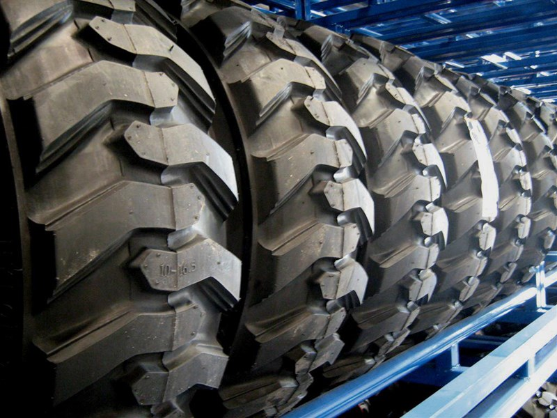 rhino spare tyre assemble 8.5-12 fit bobcat model 463 skid steer loaders [atttyre] [work ready] [ 6 ply tubeless ] 236950 027