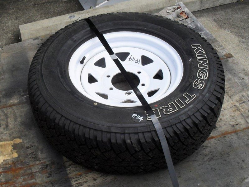 other 235/75r15 6ply trailers / 4x4 tyre rim wheel assemble / [pp114] [new] [attppitem] [atttyre] 236938 003