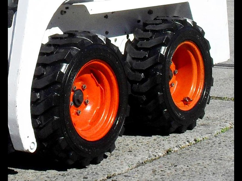 rhino spare tyre assemble 8.5-12 fit bobcat model 463 skid steer loaders [atttyre] [work ready] [ 6 ply tubeless ] 236950 031