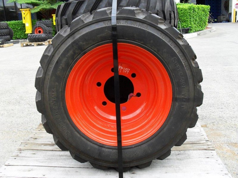 other 10-16.5 10ply spare tyre wheel assembles for racoon skid steer [pp107] [attppitem] [atttyre] 236937 007