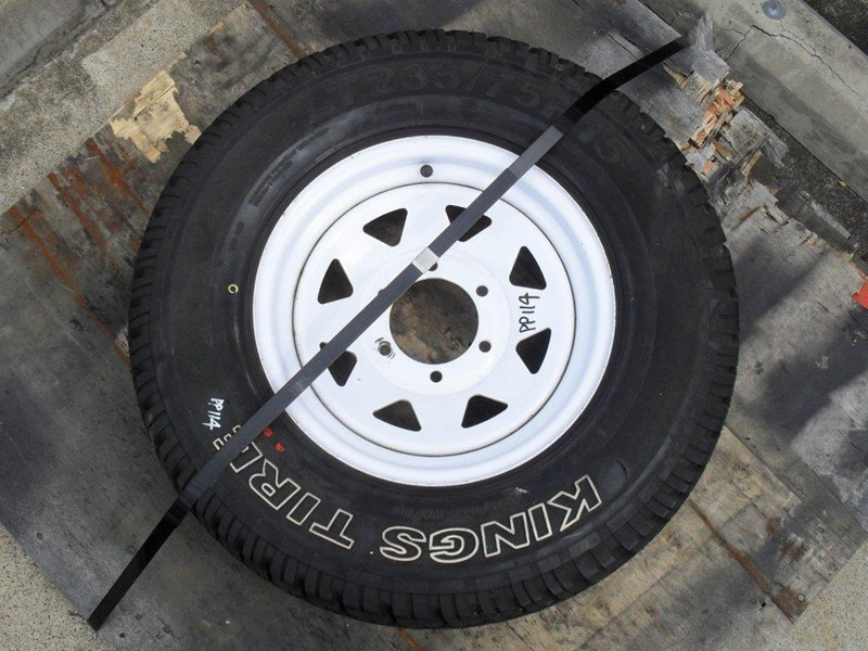 other 235/75r15 6ply trailers / 4x4 tyre rim wheel assemble / [pp114] [new] [attppitem] [atttyre] 236938 007