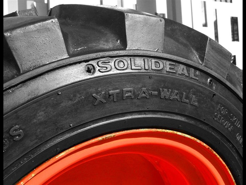 rhino rhino spare tyre assemble 8.5-12 fit bobcat model s70 skid steer loaders [atttyre] [work ready] [ 6 ply tubeless ] 237125 015