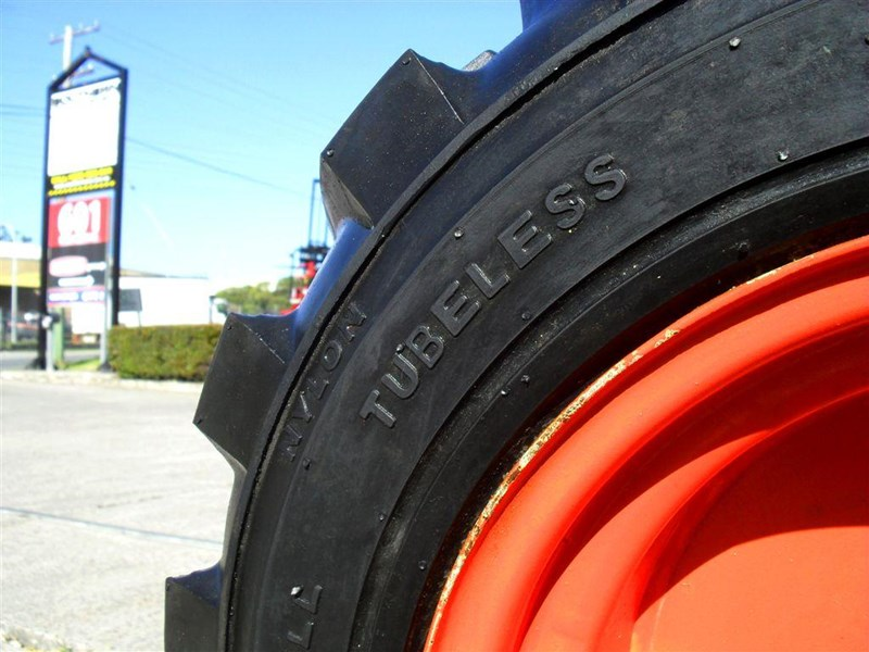 rhino spare tyre assemble - 8.5-12 fit bobcat model s70 skid steer loaders [atttyre] [work ready]   [ 6 ply tubeless ] 237126 015