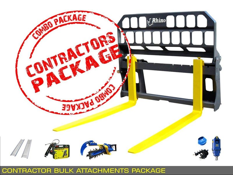 heavy duty [special deal] trencher - contractors bulk attachments package [8 items] [attcombo] 237132 007