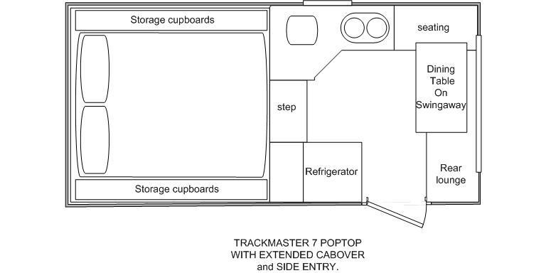 northstar trackmaster 7 side door poptop camper 24413 007