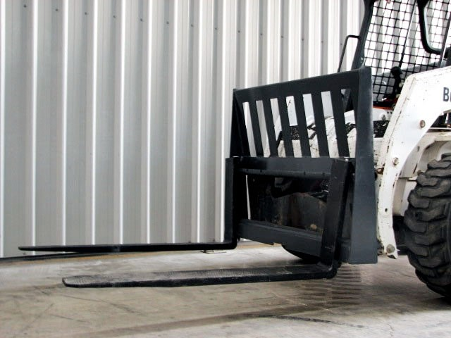workmate skid steer pallet forks attachment 25987 001