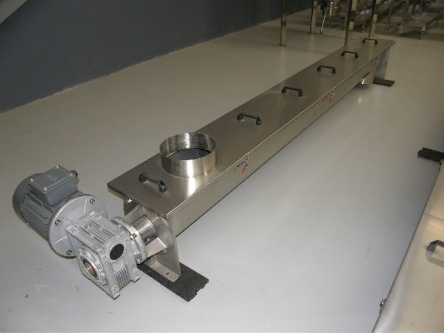 me stainless steel trough augers screw conveyor 29612 001
