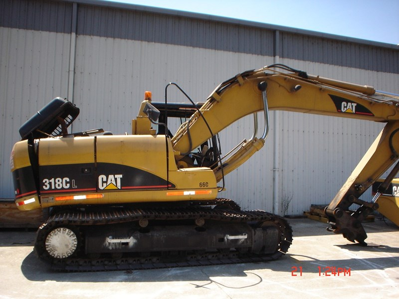 caterpillar 318cl 25376 001