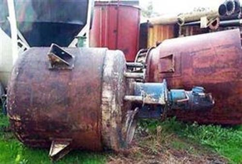 stainless steel mixing tank & reactors 150l 37546 001