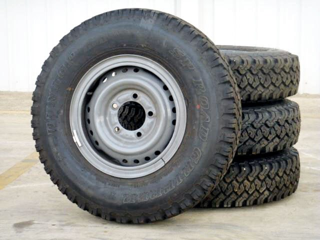 workmate toyota landcruiser tyres 108227 001