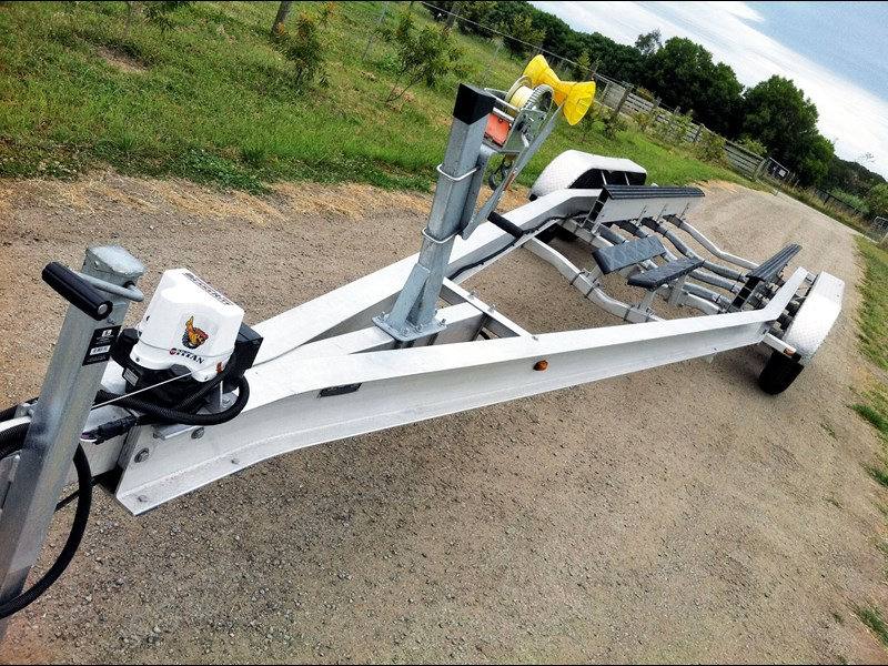 new aluminium 30ft boat trailer boat trail 52883 001