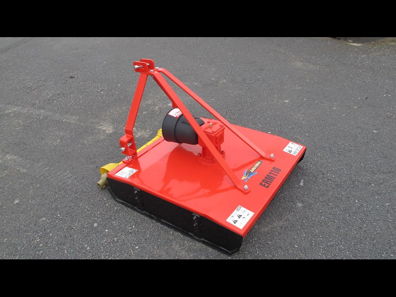 eurofarm erm110 rotary mower /topper/slasher 34338 003