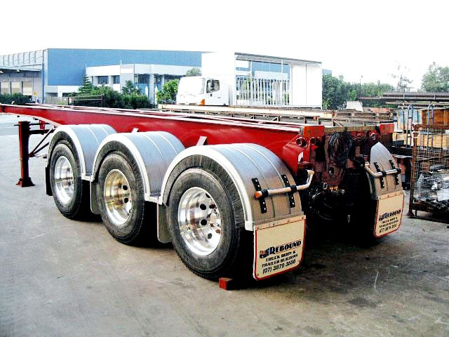 rebound tri axle chassis tipper sub frames 71083 001
