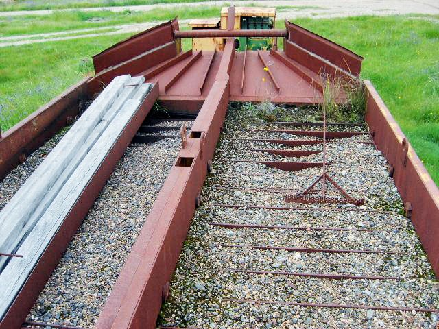 trailer mining jig trailer (floatation cell) 1306 009