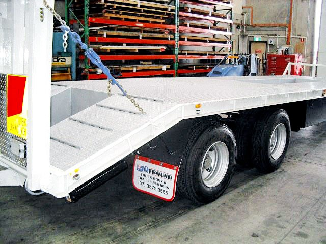 unknown tandem tag/plant trailer 71036 001