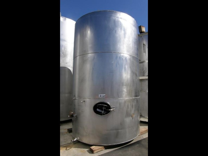 stainless steel storage tank 15,000lt 80150 001