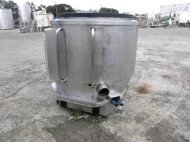 custom built stainless steel jacketed tank 80099 002