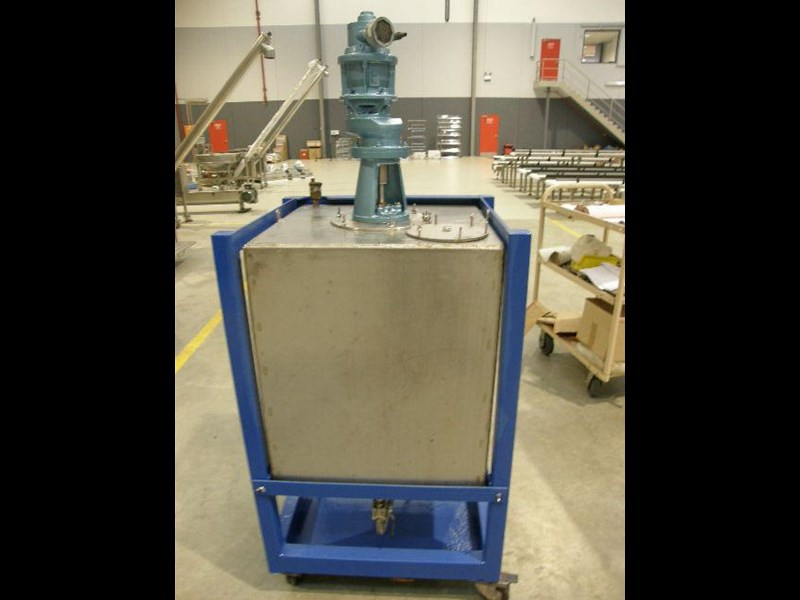 stainless steel mixing tank 240lt 80128 003