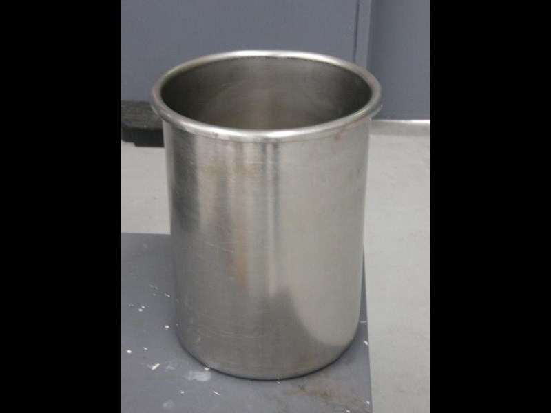 stainless steel bucket 22lt 80130 001