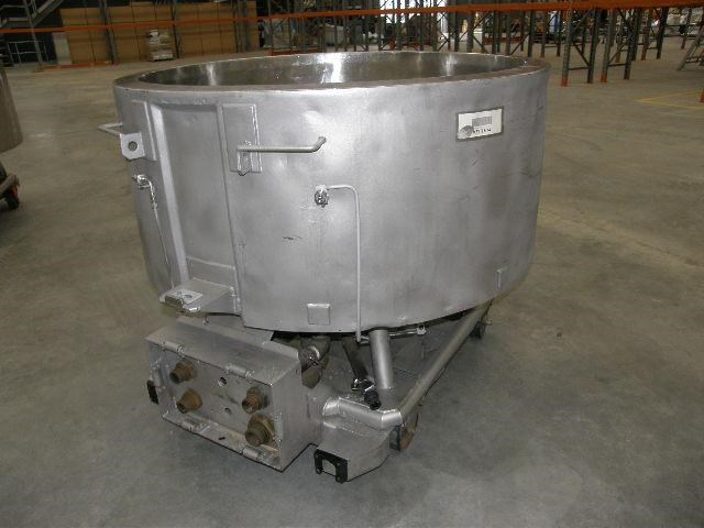 stainless steel jacketed tank 700lt 80108 003