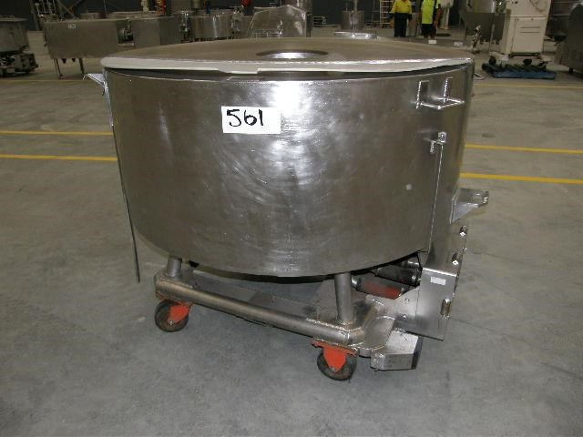 custom built stainless steel jacketed tank 80110 001