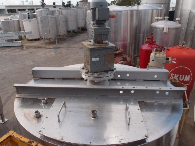 stainless steel mixing tank 4,000lt 80119 005