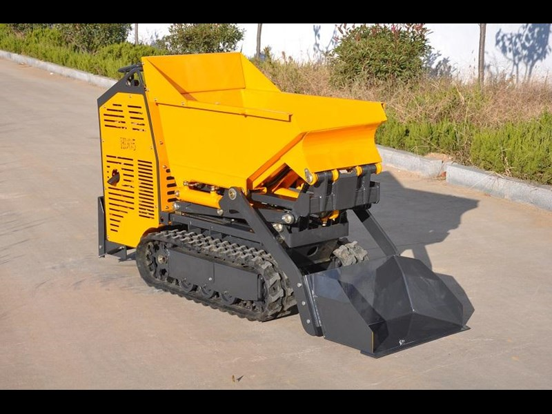 hysoon high lift dumper with self loading bucket 91152 011