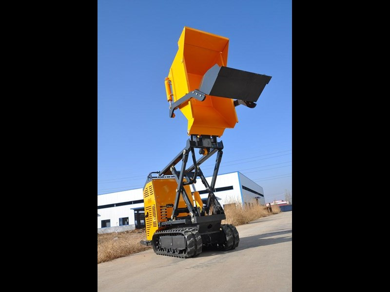 hysoon high lift dumper with self loading bucket 91152 003