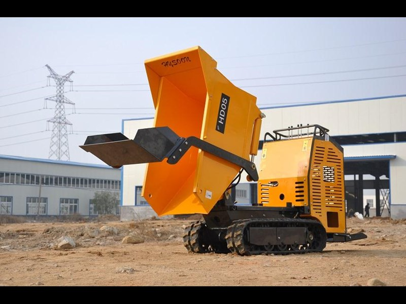 hysoon high lift dumper with self loading bucket 91152 013