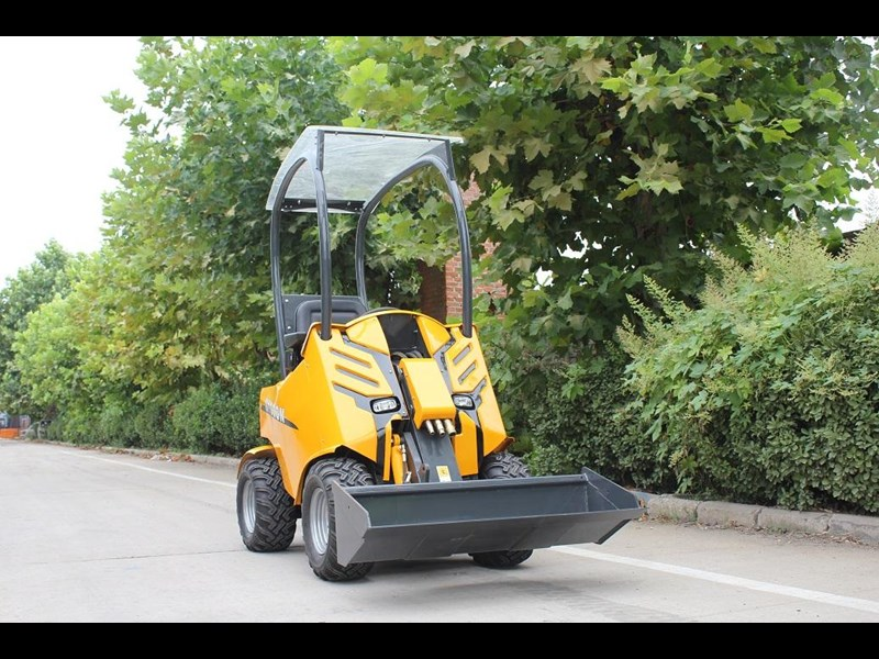 hysoon articulated loader 200 series seated loader 91016 004