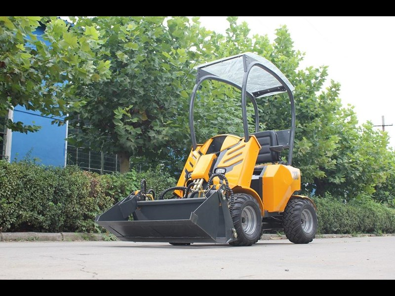 hysoon articulated loader 200 series seated loader 91016 003