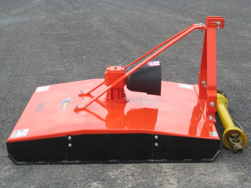 eurofarm erm140 rotary mower/topper/slasher 34339 003
