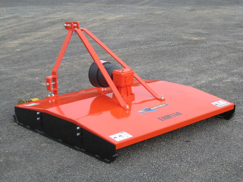 eurofarm erm140 rotary mower/topper/slasher 34339 005