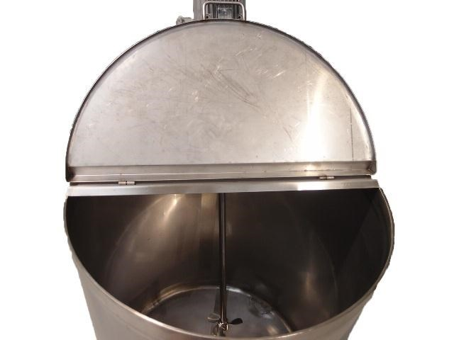 stainless steel storage/mixing tank 1,000lt 106444 005
