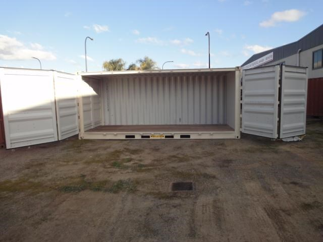 20ft container side opening 109650 011