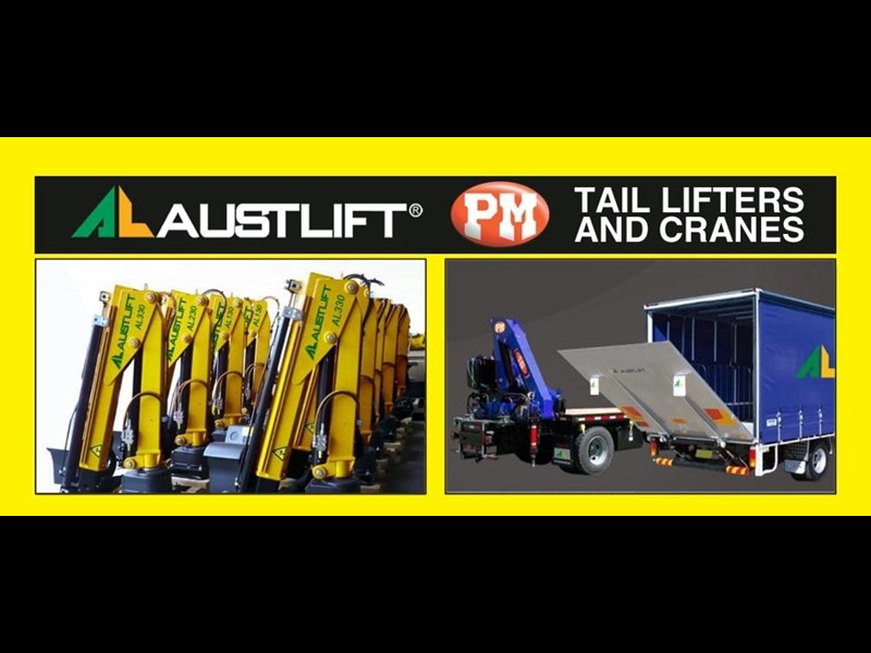 austlift cbtc now distributing the full range of pm cranes & austlift tailgate loaders including micro cranes 121536 001