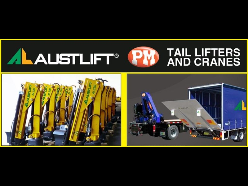 austlift cbtc now distributing the full range of pm cranes & austlift tailgate loaders including micro cranes 121536 003