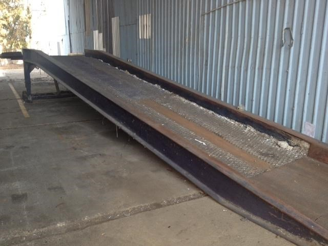 austrlian made container / truck loading ramp 129338 001
