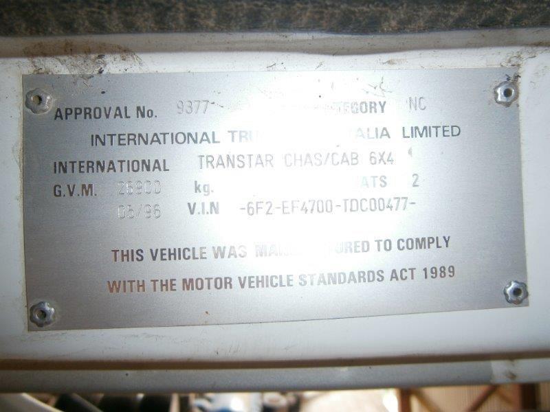 1996 International Transtar 4700 For Sale
