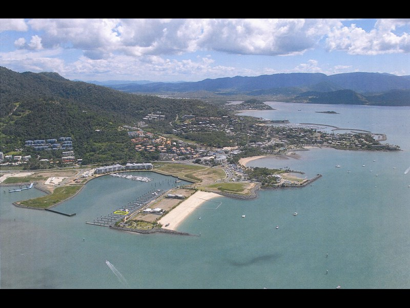 30m x 11.3 wide multihull berth in the whitsundays - 96 year lease in place 142229 005