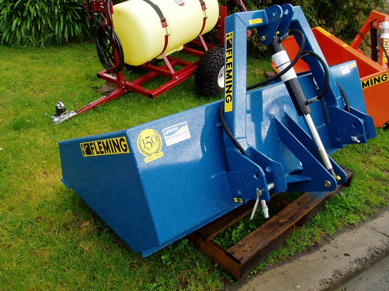 fleming hyd6 hydraulic tipping box 6' 144855 003