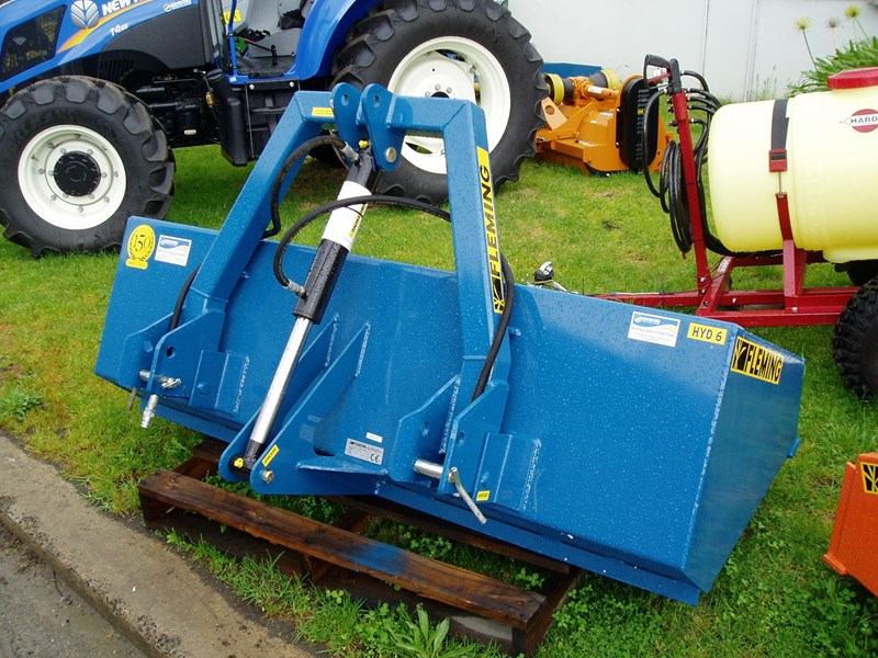 fleming hyd6 hydraulic tipping box 6' 144855 005