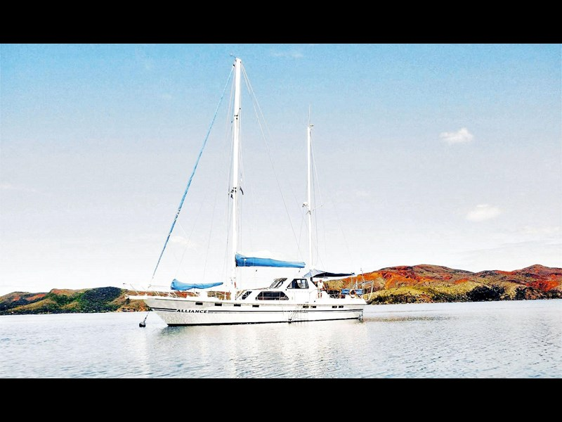 custom alliance - 63ft steel ketch* safe, solid & reliable 148607 003