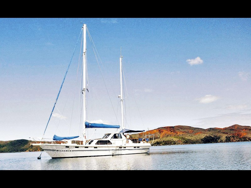 custom alliance - 63ft steel ketch* safe, solid & reliable 148607 007