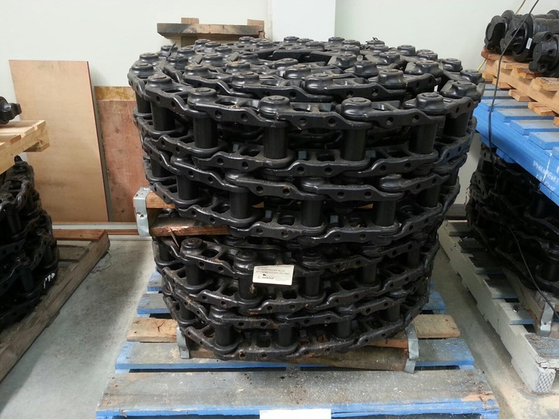 sumitomo sumitomo greased track chains to suit sh130-5 ul171c3p43 160491 003