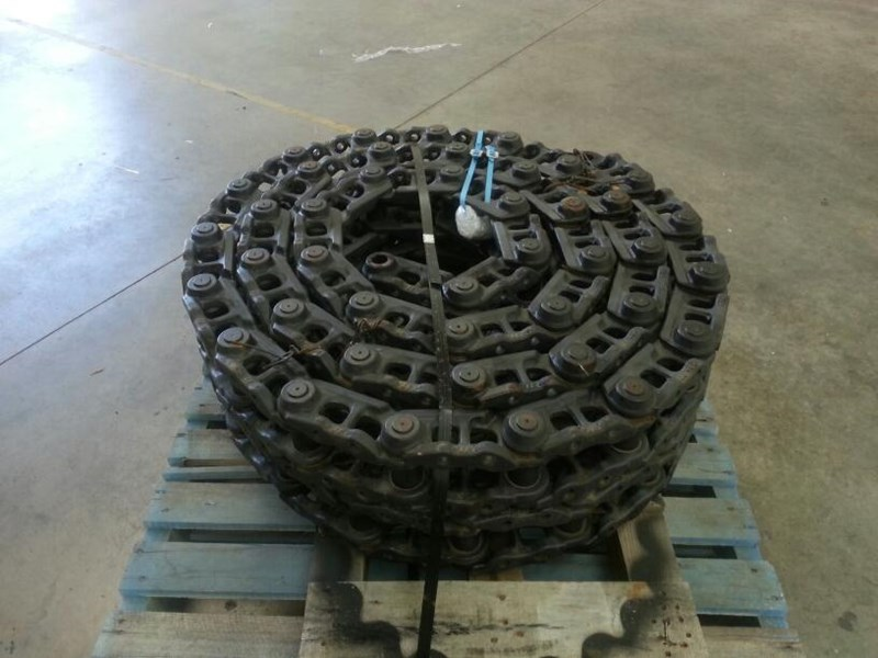 kobelco kobelco greased track chains to suit sk115,sk120 & sk130. 24100j12245f5 160513 003
