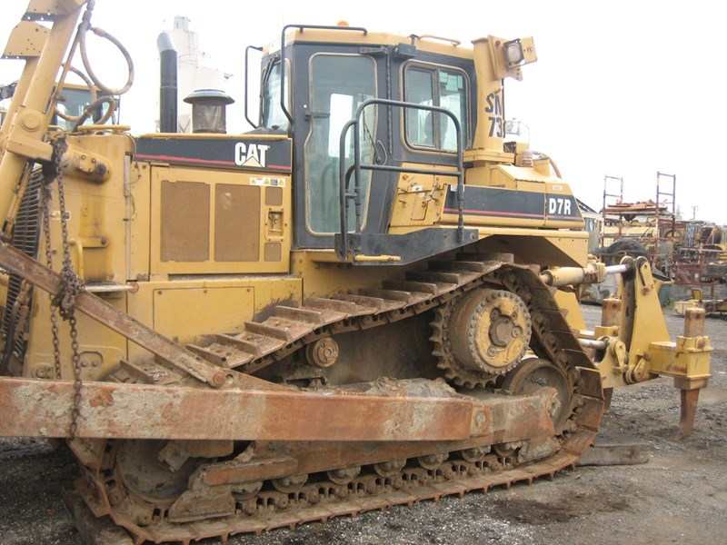 caterpillar d7r-ii 163947 005