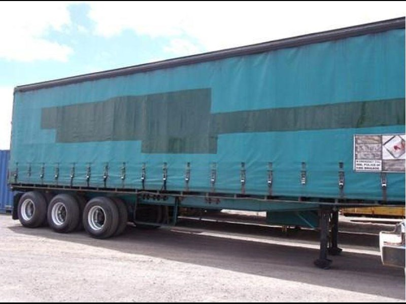freighter tri axle 40ft curtainside trailer 164029 001