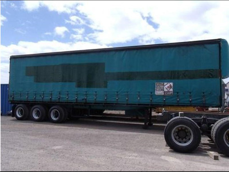 freighter tri axle 40ft curtainside trailer 164029 003