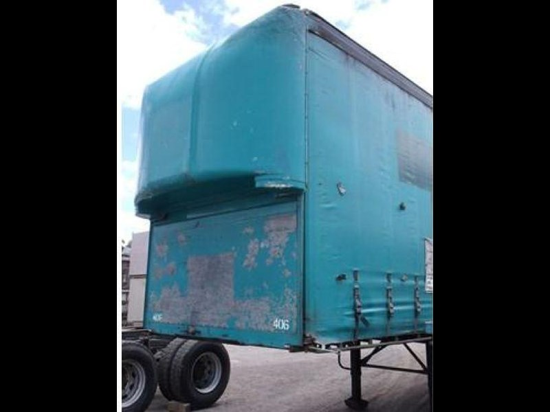 freighter tri axle 40ft curtainside trailer 164029 009